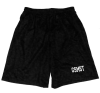 Black Mesh Gym Shorts: Small